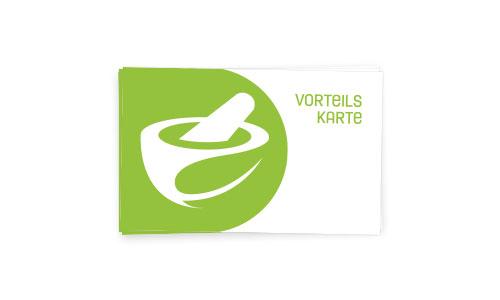 Abbildung einer Vorteilskarte mit unserem logo